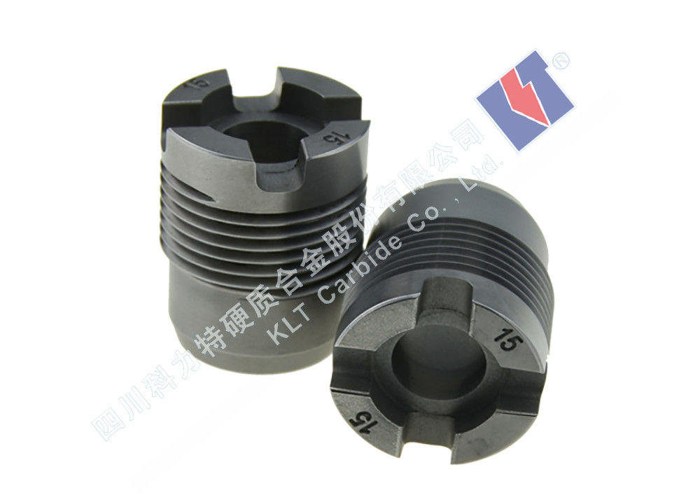 Cross Bonding Threaded Tungsten Carbide Nozzle Overall Injection Molding
