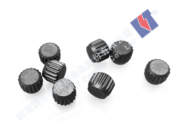 Mining Tool Insert Bits Serrated Tungsten Carbide Studs